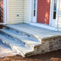 Stone Walkway and Steps